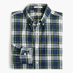 Slim Thomas Mason® for J.Crew flannel shirt in tartan
