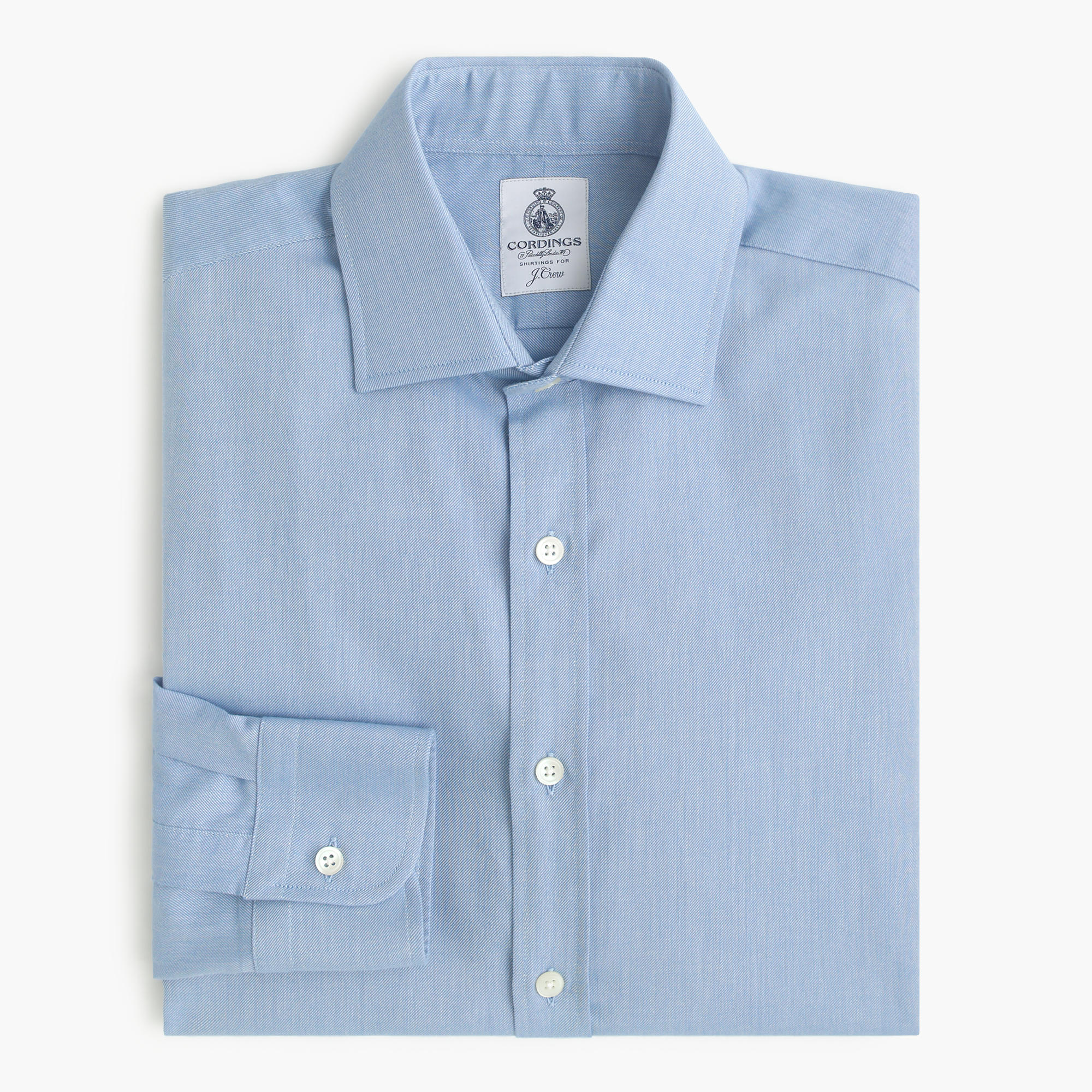 Cordings for j crew shirt in brushed twill j crew for Brushed cotton twill shirt