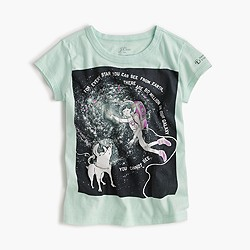 J.Crew for the American Museum of Natural History Olive in space T-shirt