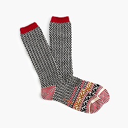 J. Crew Chup™ diamond socks