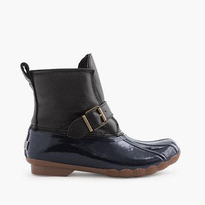Women s Sperry for J Crew Shearwater short pull on boots