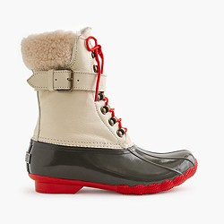 Women's Sperry® for J.Crew Shearwater buckle boots in colorblock