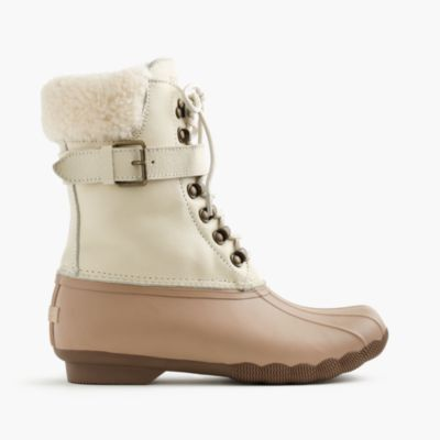 Women s Sperry For J Crew Shearwater Buckle Boots In
