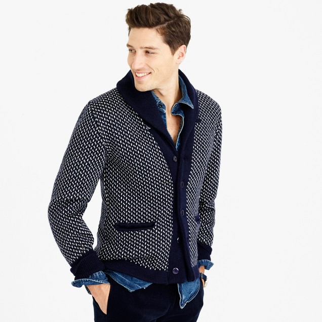 North Sea Clothing intrepid cardigan sweater