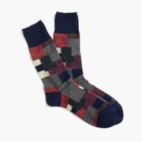 Anonymous Ism™ patchwork crew socks