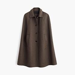 Collection cashmere cape