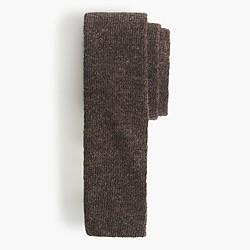 Italian wool knit tie