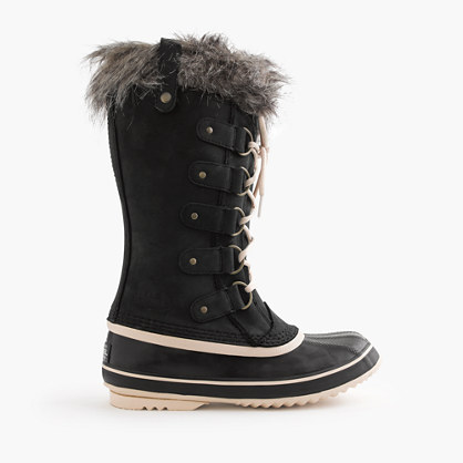 Women's Sorel® for J.Crew Joan of Arctic boots in black