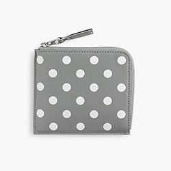 PLAY Comme des Gar�ons® polka-dot printed coin case
