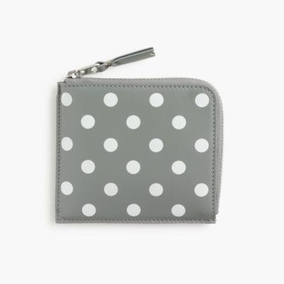 PLAY Comme des Garçons® polka-dot printed coin case