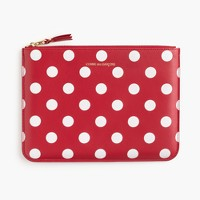 PLAY Comme des Garçons® polka-dot printed pouch