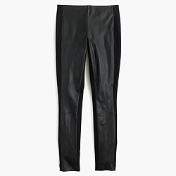 Pixie pant with leather panels