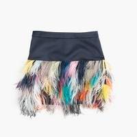 Collection ostrich feather skirt