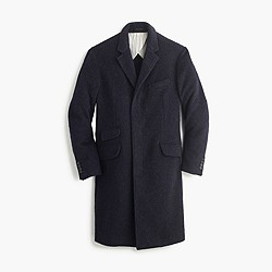 Unconstructed Italian wool topcoat