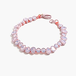Br�lée crystal necklace