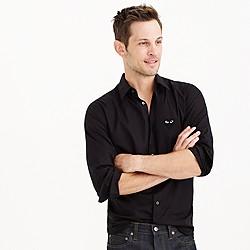 PLAY Comme des Garcons® black heart button-down shirt