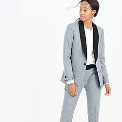 Collection Ludlow blazer in heather pewter