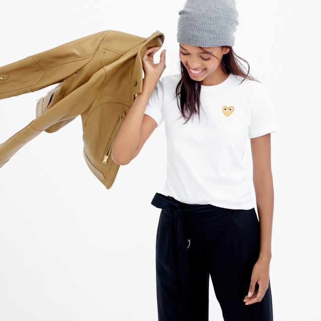 PLAY Comme des Garçons® gold heart T-shirt