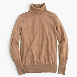 Classic turtleneck sweater in merino wool