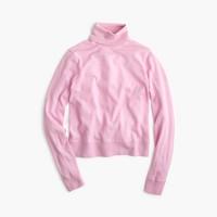 Shrunken wool turtleneck sweater