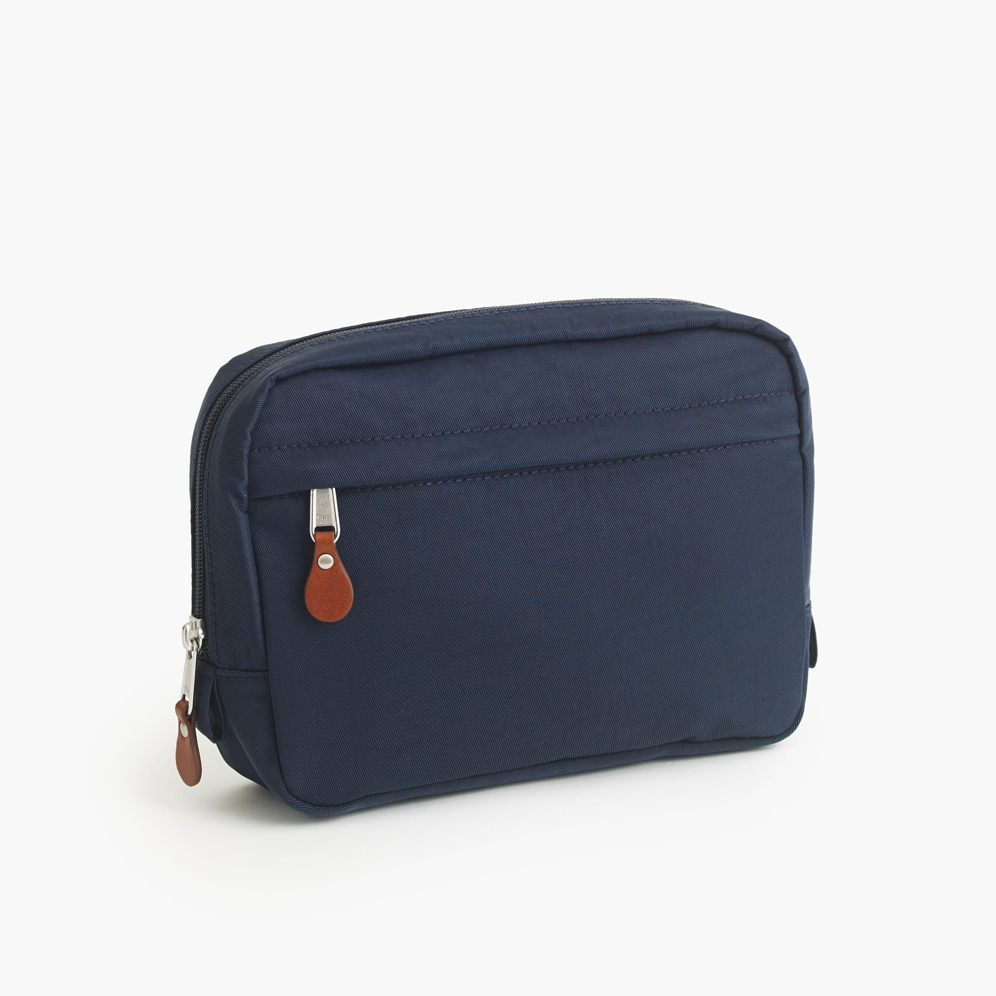Harwick travel kit, $35 (plus $10 for monogram) at J. Crew.
