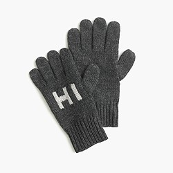 Kids' hi bye gloves