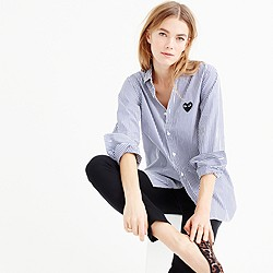 PLAY Comme des Gar�ons® stripe button-down shirt