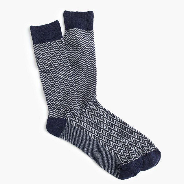 Zigzag socks