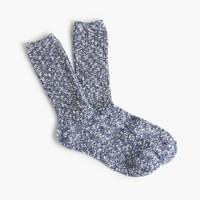 Marled camp socks
