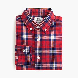 Boys' Thomas Mason® for crewcuts flannel Ludlow shirt