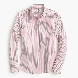 Collection Thomas Mason® club-collar shirt in dress stripe