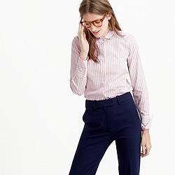 Collection Thomas Mason® club-collar shirt in dress stripe