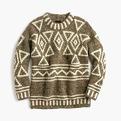 Collection abstract Fair Isle sweater