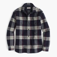 Wallace & Barnes guide shirt-jacket in English wool