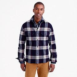 Wallace & Barnes guide shirt-jacket in English wool