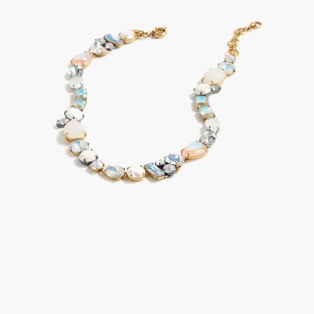 Smoky crystal necklace