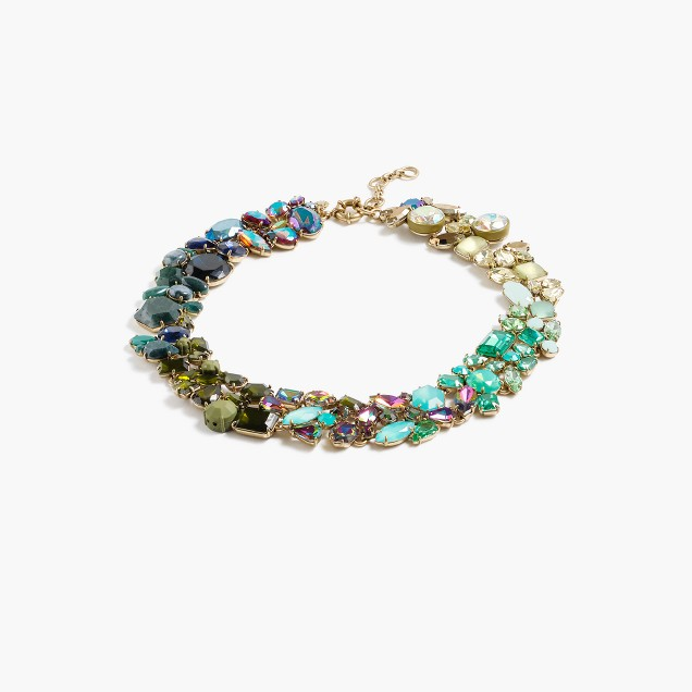 Ombr crystal necklace j crew for J crew jewelry 2015