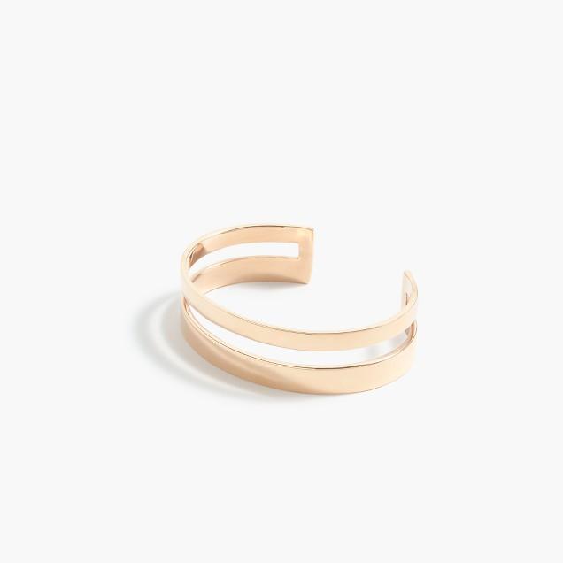 Dual cuff bracelet