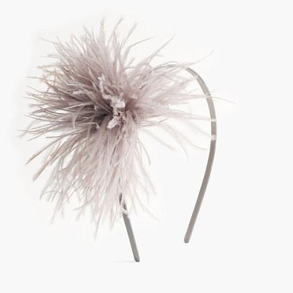 Girls' feather headband