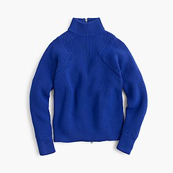 Collection Italian stretch turtleneck sweater