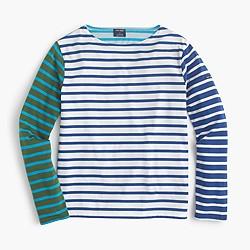 Saint James® for J.Crew colorblock stripe T-shirt