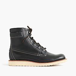Wallace & Barnes plain-toe Byrd boots