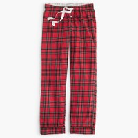 Classic tartan flannel pant