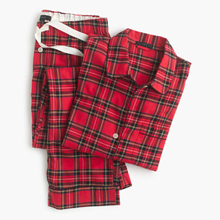 Classic tartan plaid pajamas
