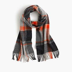 Abraham Moon for J.Crew wool scarf