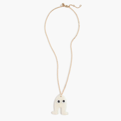 Girls' Max the Monster glitter necklace