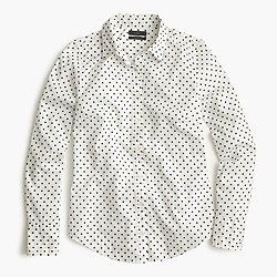 Perfect shirt in poplin dot