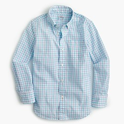 Pre-order Boys' Secret Wash shirt in check