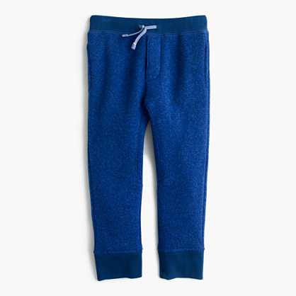 Boys' summit fleece pant in slim fit
