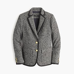 Rhodes blazer in Italian Donegal wool